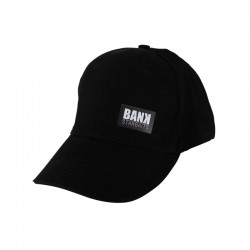BANK 5 PANELS CAP Black
