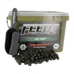 FEEDZ HEMP PELLET 8 MM - 4KG