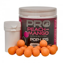 PROBIOTIC PEACH & MANGO POP UPS 60G 14 mm