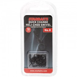 Quick Change Heli-Chod Ring Swivel No.8